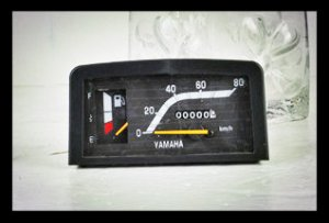 Speedometer for CY80 motorcycle