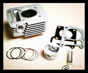YBR125 Cylinder Kit Motorcycle Cylinder Block Set for supply