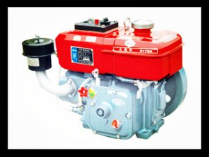 R165 3hp Horizontal Water Cooled 4-stroke Small Diesel Engine