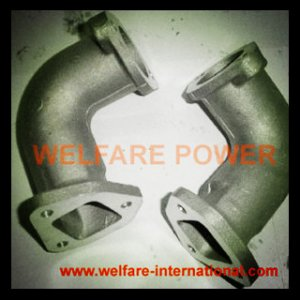 186F 9hp diesel engine intake bending pipe