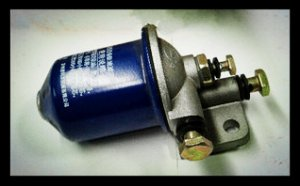 Supply Changchai Diesel engine parts,1110,1115 fuel filter assy