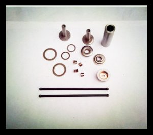168F(4hp) air cooled diesel engine part kit(push rod,pin,tappet)