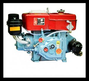 R180 8hp Horizontal Water Cooled 4-stroke Small Diesel Engine
