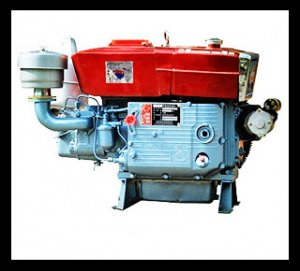 BQS-ZS1110 18hp Horizontal Water Cooled 4-stroke Diesel Engine