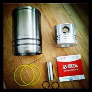 Supply Changchai Diesel engine parts,R190,192 Liner Piston Kit