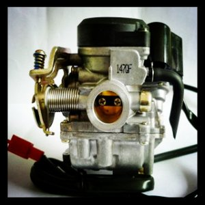 PD18J Motorcycle Carburetor for 50CC Scooter, CY6-50