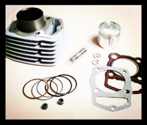 CB125 Motorcycle Cylinder Block kit for supply