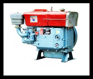 BQS-S195 12hp Horizontal Water Cooled 4-stroke Diesel Engine