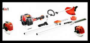 WSE-520 52CC 4 in 1 Multi-function Gasoline Brush Cutter/Trimmer