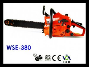WSE-380 38CC Gasoline Chainsaw/Wood Spliter with CE
