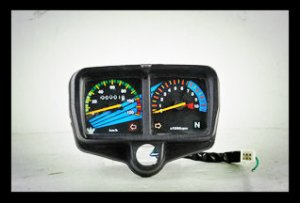 CG125 Speedometer with RPM Reading