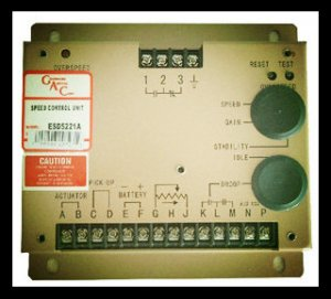 ESD 5221 Speed Controller for Generator