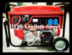 5kw Gasoline Genset with e-start and trolley wheel