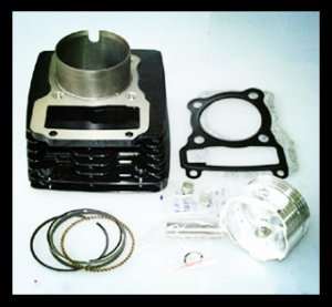 Y150 Cylinder Kit Motorcycle Cylinder Block kit for supply