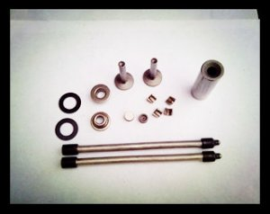 170F(5hp) air cooled diesel engine part kit(push rod,pin,tappet)