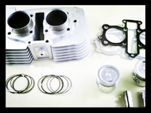 CA250,JH250 Motorcycle double Cylinder Kit for supply