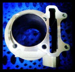 GY6-150 57.4mm bore Cylinder Block for 150cc Scooter