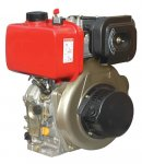 173F 245cc 5hp Vertical Air Cooled 4-stroke Small Diesel Engine