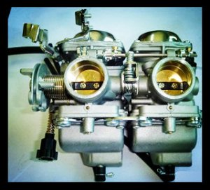 PD26J Carburetor for 250cc double cylinder motorcycle