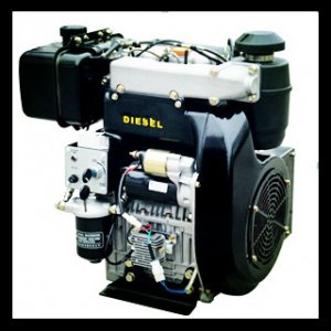 292F 997cc 25hp Double-Cylinder Air Cooled Diesel Engine