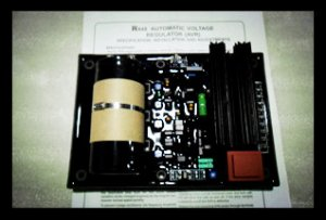 R448 AVR for Leroy Somer Diesel Brushless Generator