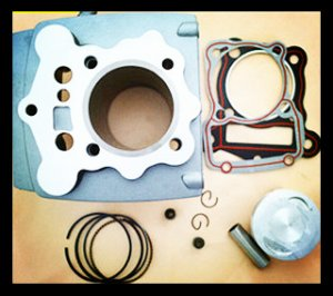 CG200 Cylinder Kit Motorcycle Cylinder Block kit for XINRAY