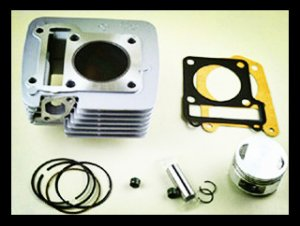 YBR125 upgrate to 150CC Rebuild Cylinder Kit for supply