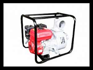 170F 4inch self suction aluminum pump set