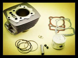 LX CG200 Motorcycle Cylinder Block Set for supply(air cooling)