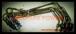 186F 9hp diesel engine high pressure fuel pipe