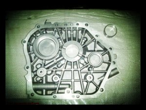 186F 9hp diesel engine crankcase cover