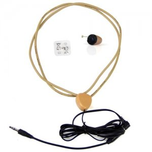 invisible wireless earpiece with inductive neckloop