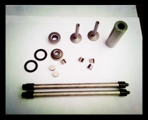186F(9hp) air cooled diesel engine part kit(push rod,pin,tappet)
