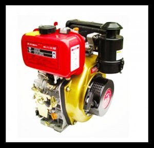 170F 211cc 4hp Vertical Air Cooled 4-stroke Small Diesel Engine