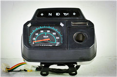 AX100 speedometer with stalls