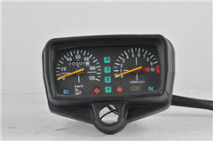 CG125 speedometer with clock and stalls