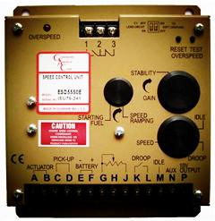 ESD 5500E controller, control unit