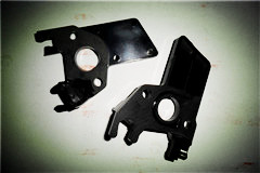 carburetor insulation block